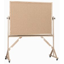 <strong>AARCO</strong> Reversible Natural Pebble Grain Cork Bulletin Board