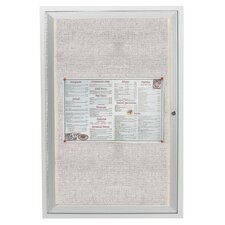 Enclosed 3' x 2' Bulletin Board