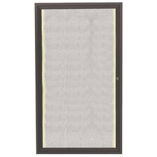 Aluminum Framed Enclosed Bulletin Board