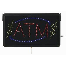 High Visibility LED ATM Sign
