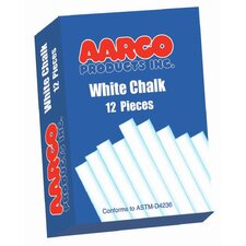 White Chalk 12 Boxes of 12 Pieces