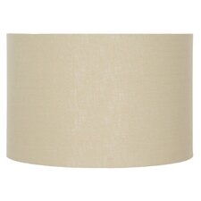 "Modern 12"" Linen Lined Drum Shade"