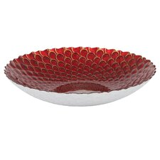 32.5cm Display Bowl in Peacock