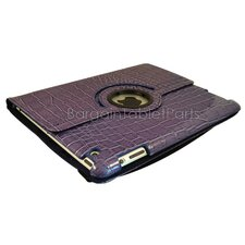 Ipad 2 and Ipad 3 Crocodile Rotating Case