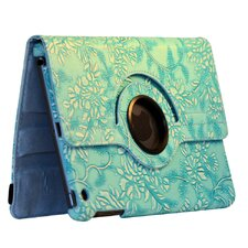 Ipad Mini Flower Rotating Case