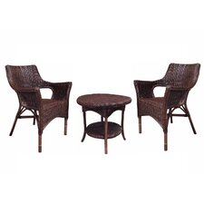 Rattan Living 3 Piece Seating Group