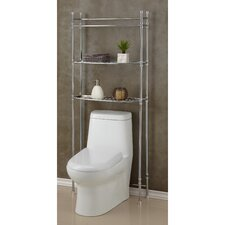 "<strong>Fox Hill Trading</strong> 25"" x 63"" Bathroom Space Saver Shelf"