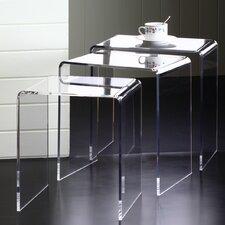 Pure Décor 3 Piece Nesting Table Set