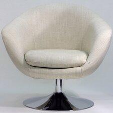 Overman Disc Base Comet Barrel Chair