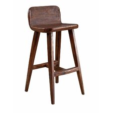 Hand Hewn Bar Stool