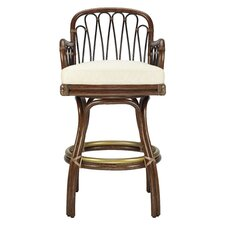 <strong>Selamat</strong> Sona Swivel Bar Stool with Cushion