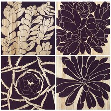 <strong>Selamat</strong> Succulent Panels (Set of 4)
