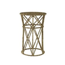 Jute End Table