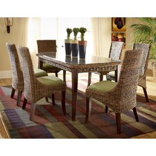 Martinique 7 Piece Dining Table Set