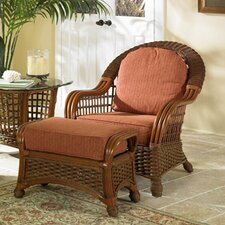 <strong>Wildon Home ®</strong> Montego Chair and Ottoman