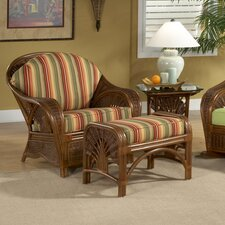 Palm Cove Chair and Ottoman