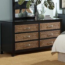 Barbados 6 Drawer Dresser