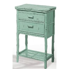 Coastal Chic 2 Drawer Accent Chest