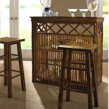 <strong>Kenian</strong> Coastal Chic Tiki Bar Table