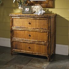 <strong>Kenian</strong> Coastal Chic 3 Drawer Accent Chest