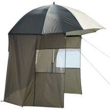 Fishing Umbrella in Green with Side Panels
