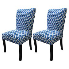 <strong>Sole Designs</strong> Julia Cotton Parson Chair (Set of 2)