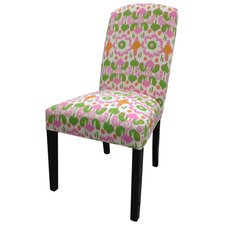 Flora Cotton Parson Chair (Set of 2)