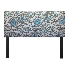 Suzani Grapevine Upholstered Headboard
