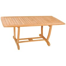 <strong>HiTeak Furniture</strong> U Rectangular Table