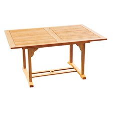 <strong>HiTeak Furniture</strong> Rectangular Extension Table