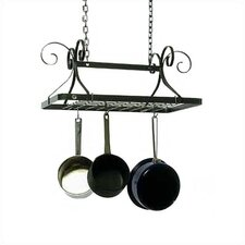 Decor Rectangle Hanging Pot Rack