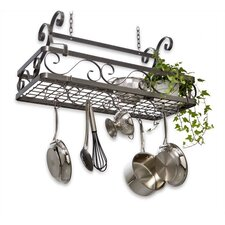 <strong>Enclume</strong> Decor Basket Hanging Pot Rack
