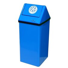 Medium Free Standing 21 Gallon Industrial Recycling Bin