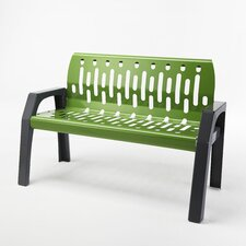 Stream Steel Garden Bench