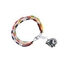 Liu Li Art Chinese Zodiac Snake Charm Bracelet