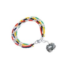 Liu Li Art Chinese Zodiac Goat Charm Bracelet