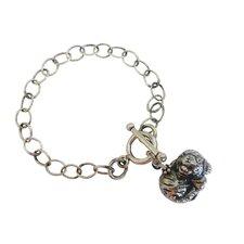 Tiger Gemstone Charm Bracelet