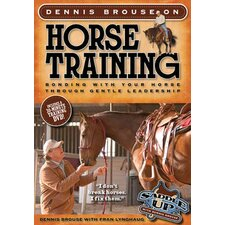 Dennis Brouse on Horse Training (Paperback + DVD)