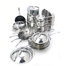 <strong>Cuisinox</strong> Elite 30-Piece Cookware Set