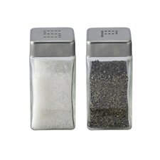 2 Piece Salt and Pepper Shaker Set
