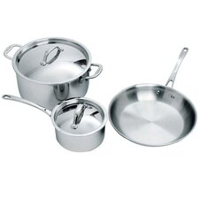 <strong>Cuisinox</strong> Elite 5-Piece Cookware Set