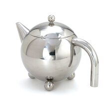 0.38-qt. Footed Teapot with Infuser