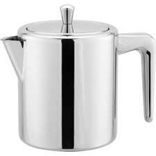 Stainless Steel 1 Lt Teapot with Infuser