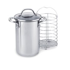 Elite 3.5 Quart Covered Asparagus Steamer