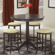 <strong>Hillsdale Furniture</strong> Tiburon 5 Piece Dining Set