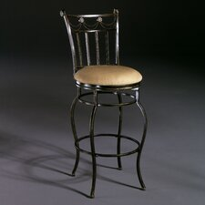 "<strong>Hillsdale Furniture</strong> Camelot II 26"" Swivel Bar Stool with Cushion"