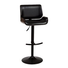 "<strong>Hillsdale Furniture</strong> Radcliff 25"" Adjustable Swivel Bar Stool with Cushion"