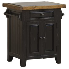 <strong>Hillsdale Furniture</strong> Tuscan Retreat Kitchen Island with Granite Top