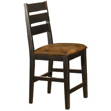 Killarney Ladder Back Non-Swivel Counter Stool (Set of 2)