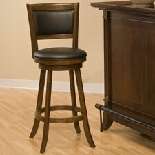 "Swivel 24"" Bar Stool with Cushion"